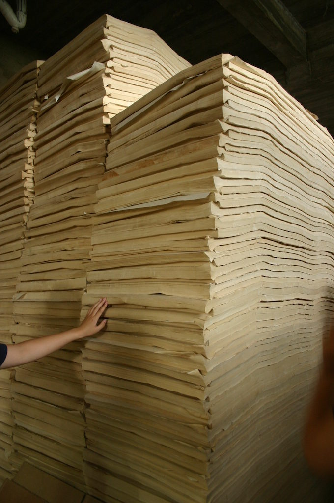 世界の竹紙探訪の旅 中国編その2