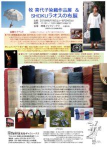 6月の展覧会と蛍ライブ