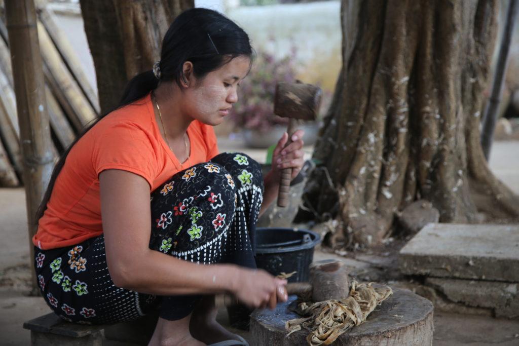 ミャンマー竹紙探訪の旅 その6