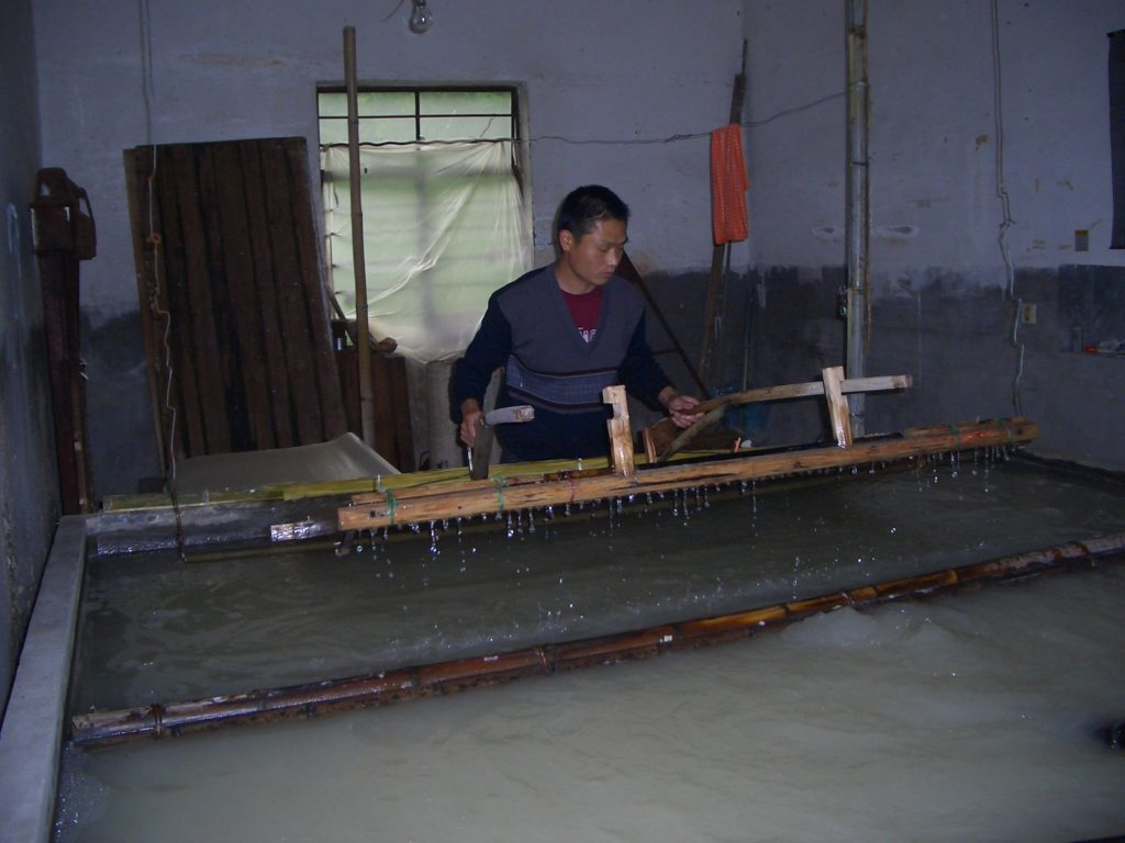 世界の竹紙探訪の旅 中国編その3