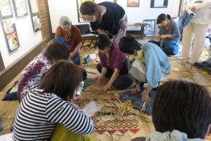 ゴザ編み講習