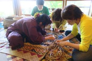 ゴザ編み再講習の会
