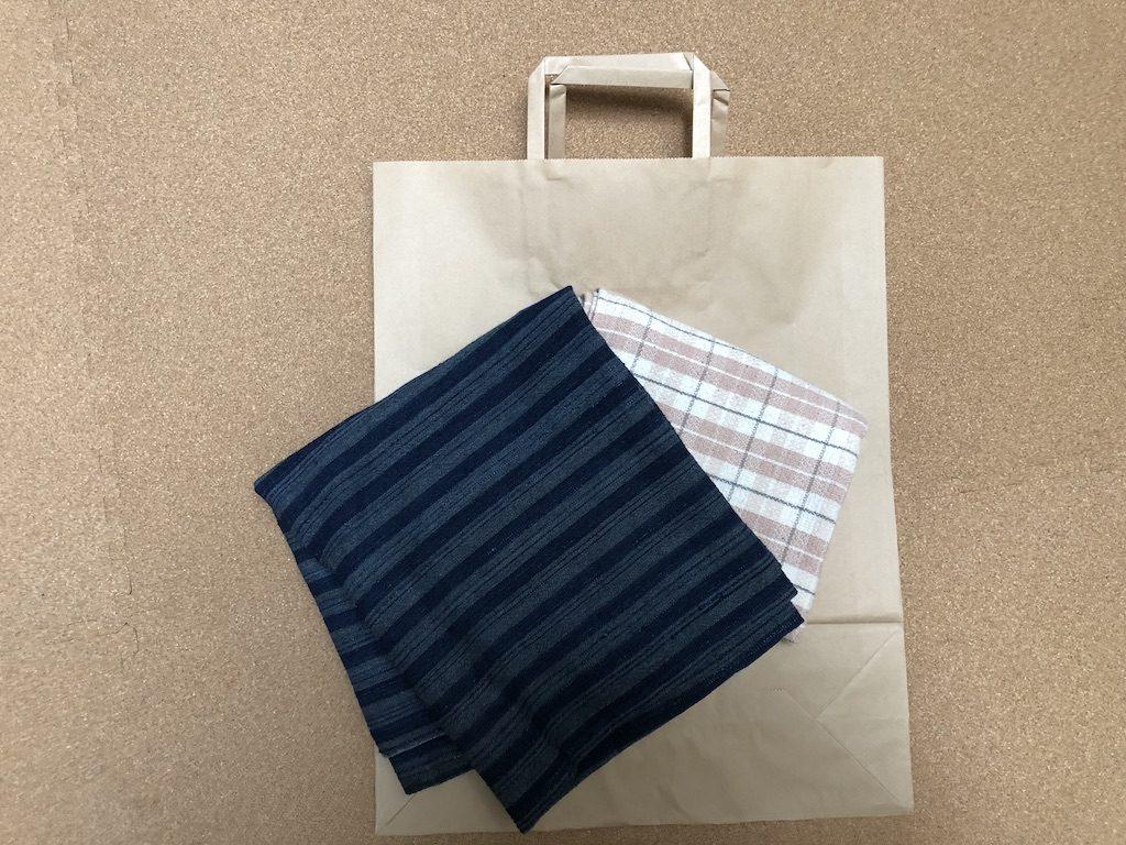 竹紙の包装のこと、そして風呂敷